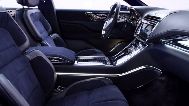 2016 Lincoln Continental Concept Car Featuring Shearling by Keleen Leathers