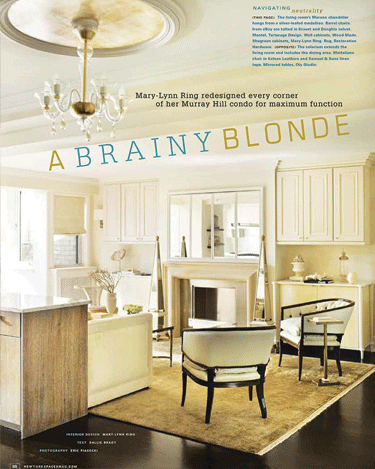 New York Spaces Feature for Fall 2012