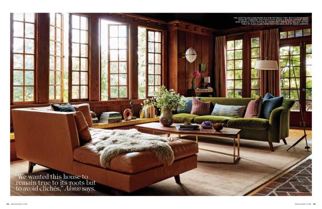 Architectural Digest Commune Design Sofa in Natura