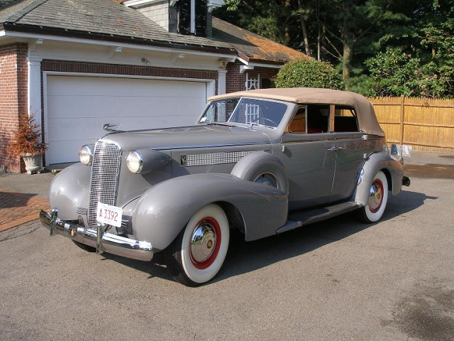 1937 Vintage Cadillac in Leather by Keleen