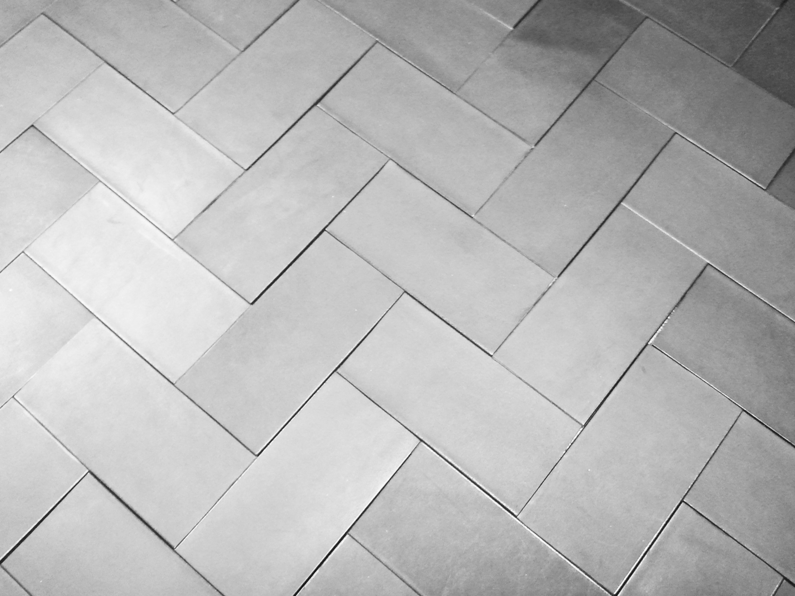 Leather Floor Tiles And Wall