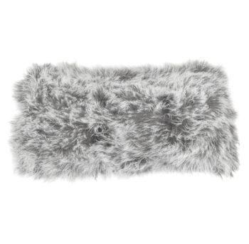 Keleen Leathers Luxury Shearling Rug Hide Grey