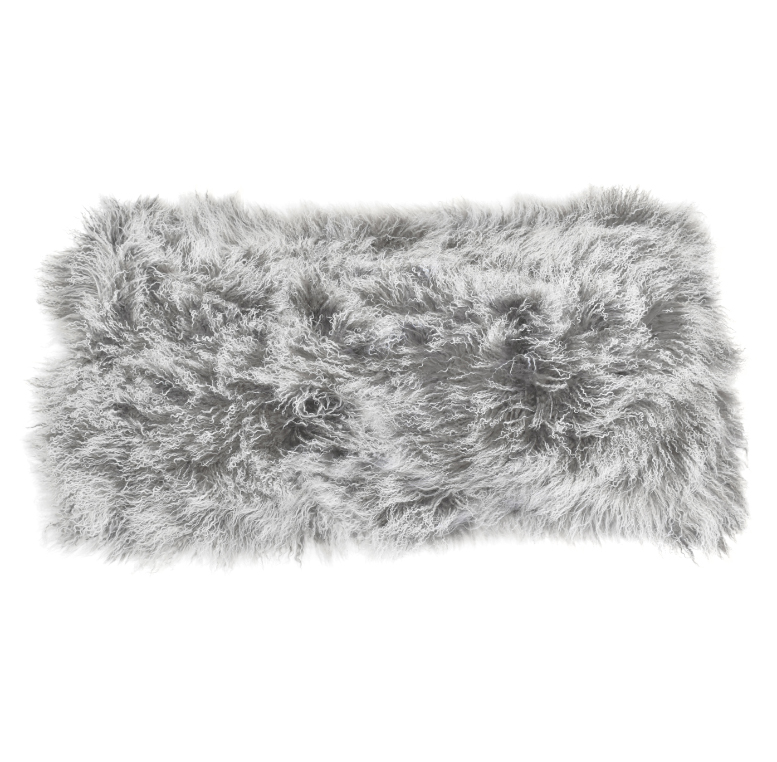 Keleen Leathers Luxury Shearling Rug Hide Grey