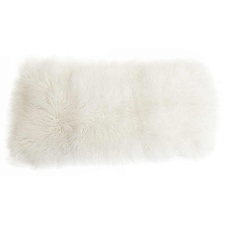 Keleen Leathers Luxury Shearling Rug Hide White