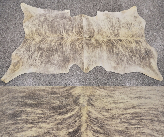 oversized leather rug by Keleen Leathers, Inc.
