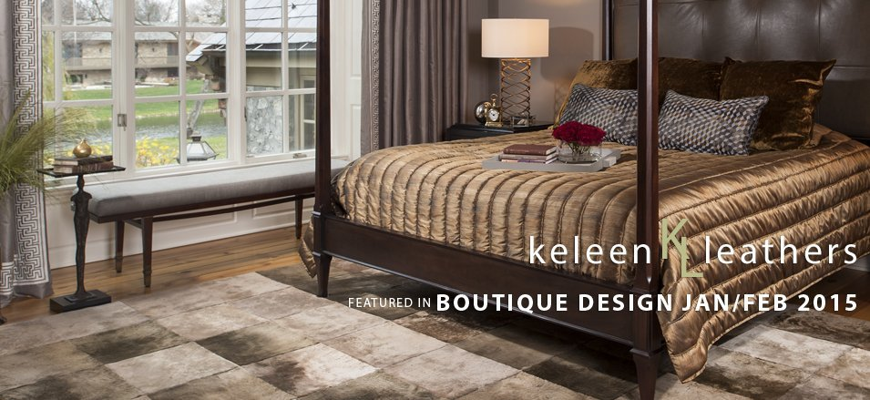 Boutique Design Feature In February 2015 With Keleen Leathers & DMID