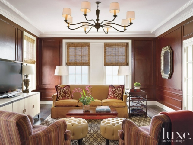 "LuxeSource - Custom Ottomans Upholstered in ""Soho"" by Keleen Leathers"