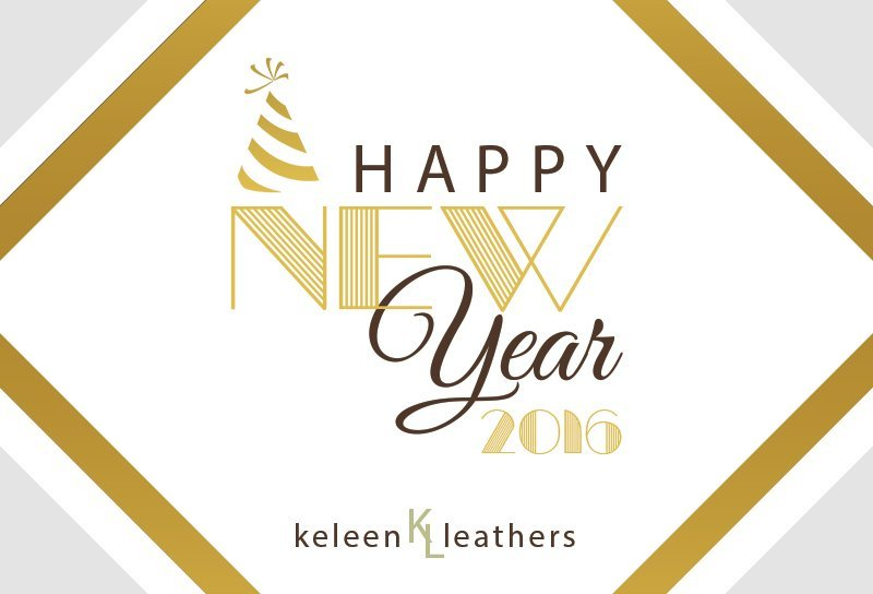 Happy New Year 2016 Image at Keleen Leathers