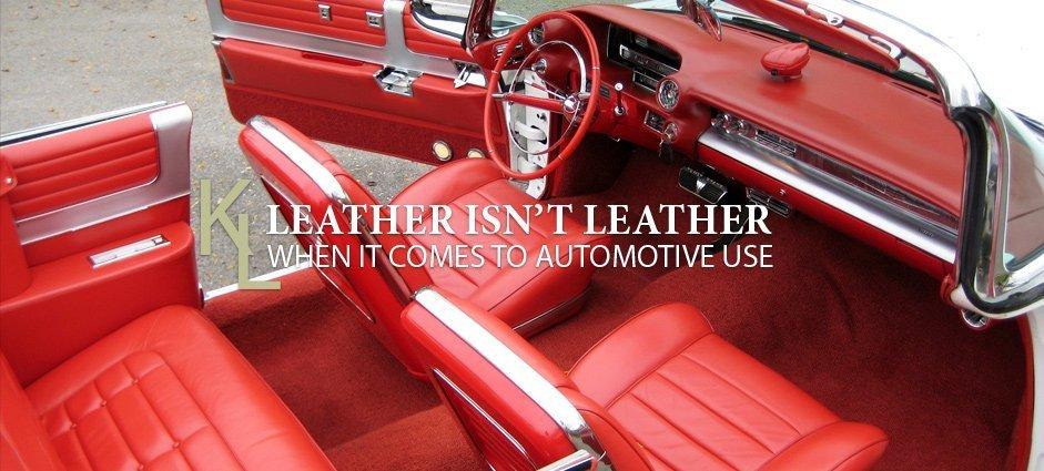 Automotive Leather - Keleen Leathers Blog Icon