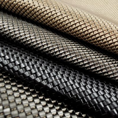 Woven Metallics by Keleen Leathers