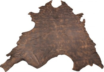 Brown leather - full leather hide