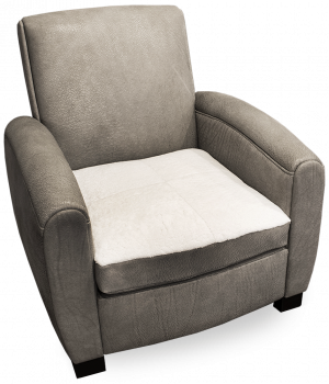 Leather Classic Paris Club Chairs by Keleen Leathers, Inc.