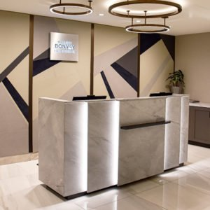 Image of Keleen Leathers KLAD Luxury Leather Wall at Downtown Marriott
