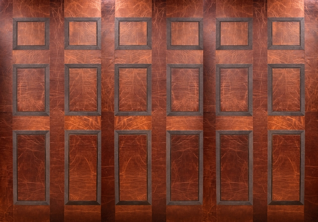 KLAD Luxury Leather Wall - Library Style Wall