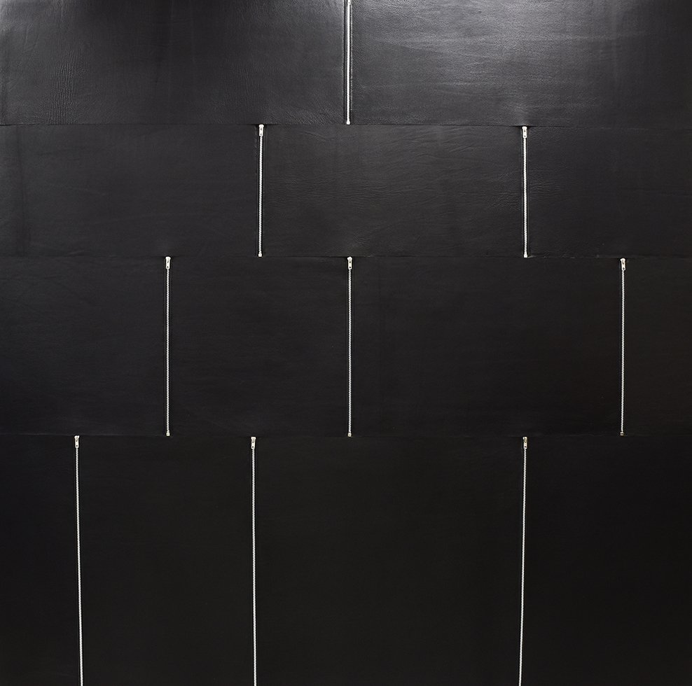 Image of Keleen Leathers KLAD Luxury Leather Wall - MOTO (Zipper Wall)