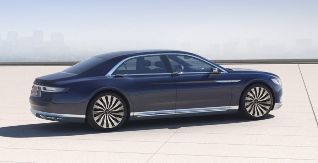 2016 Lincoln Continental Concept Car Featuring Keleen Leathers