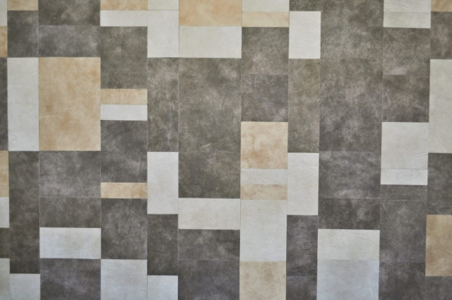 Standard Leather Wall Tiles in KLAD Luxury Leather Line