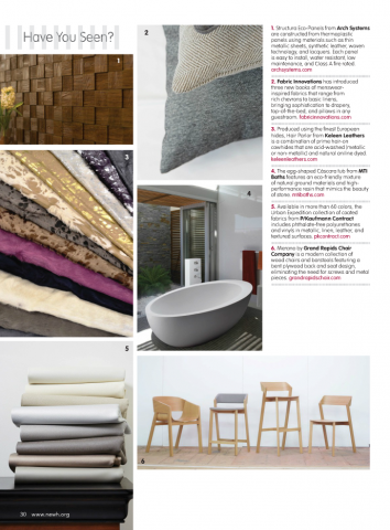 NEWH Fall 2015 Issue - Have You Seen?