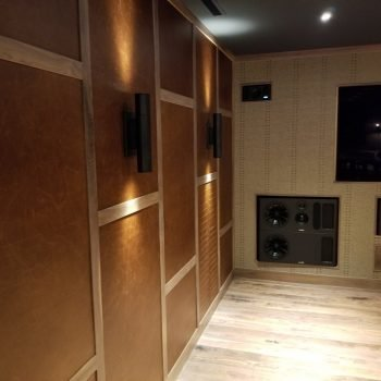 KLAD Acoustical Leather Wall Tiles by Keleen Leathers, Inc.
