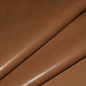 Orange Brown Upholstery Leather