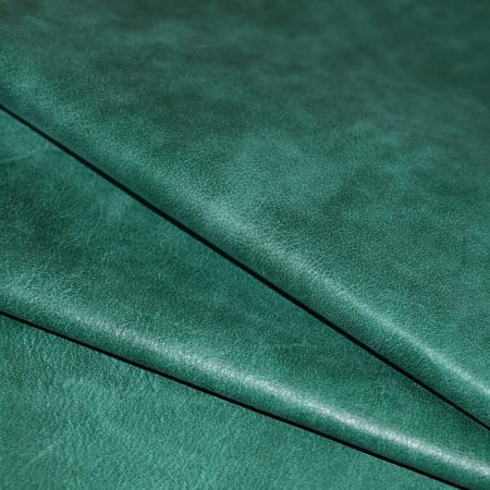 Green Distressed Residential Upholstery Leather