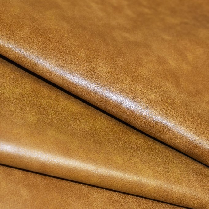 Yellow Gold Distressed Residential Upholstery Leather