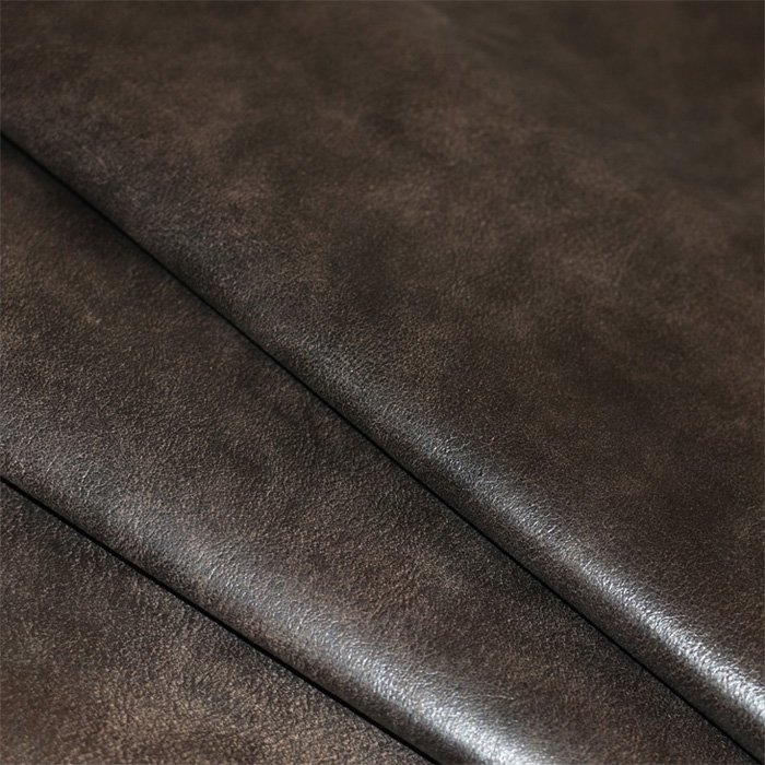 Dark Brown Distressed Residential Upholstery Leather