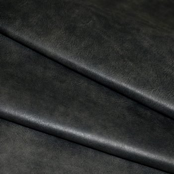 Black Leather Residential Upholstery