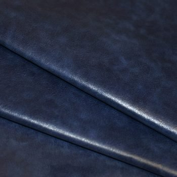Blue Distressed Residential Upholstery Leather