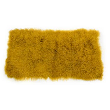 Keleen Leathers Luxury Shearling Rug Hide Gold