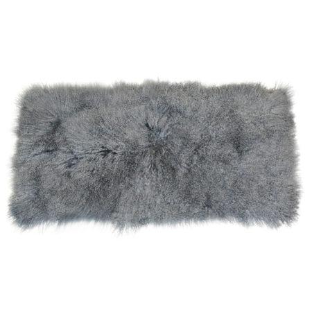 Keleen Leathers Luxury Shearling Rug Hide Granite