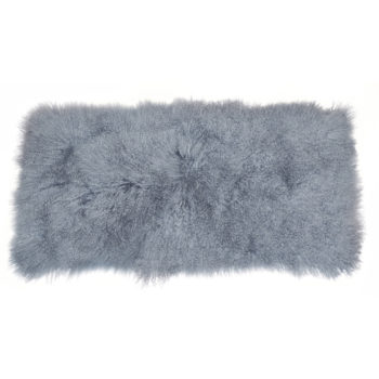 Keleen Leathers Luxury Shearling Rug Hide Haze
