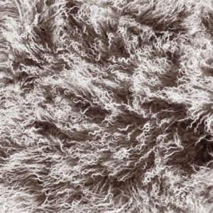 Keleen Leathers Luxury Shearling Rug Hide Brown