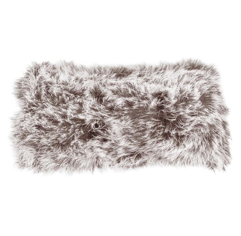 Keleen Leathers Luxury Shearling Rug Hide Brown