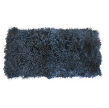 Keleen Leathers Luxury Shearling Rug Hide Blue
