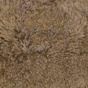 Keleen Leathers Luxury Shearling Rug Hide Taupe