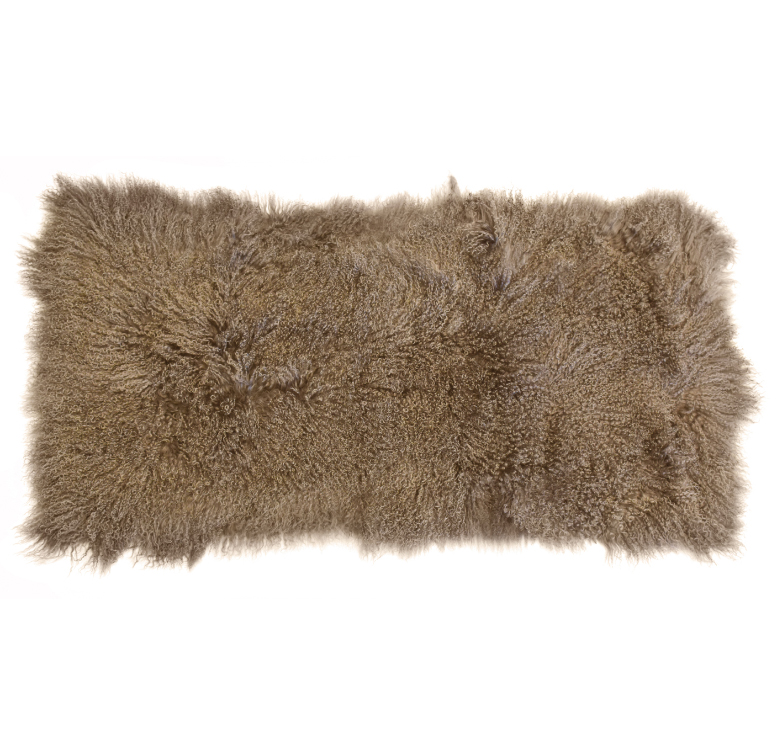 Keleen Leathers Luxury Shearling Rug Hide Taupe