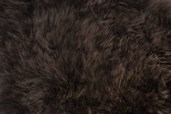 plush wool sheep animal plush textile carpet Keleen Leathers brown hair brunette
