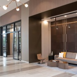 North Harbor Tower Residences Chicago Illinois Keleen Leathers KLAD Luxury Wall