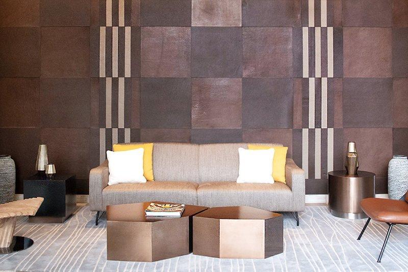 Leather Wall Tiles Floor Keleen Leathers Inc