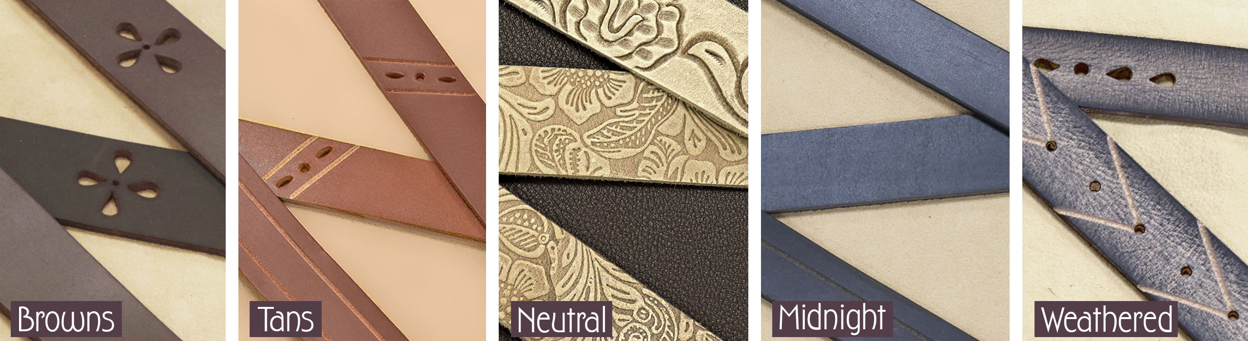 keleen leathers wall design belting leather