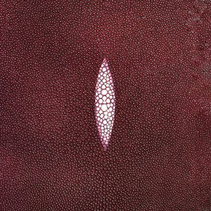 SHAGREEN STINGRAY - MERLOT