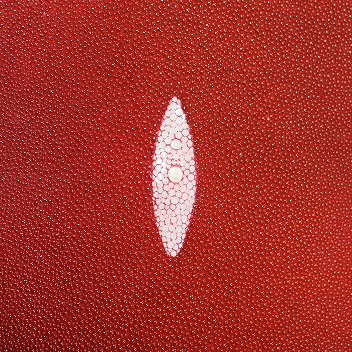 SHAGREEN STINGRAY - RUBY